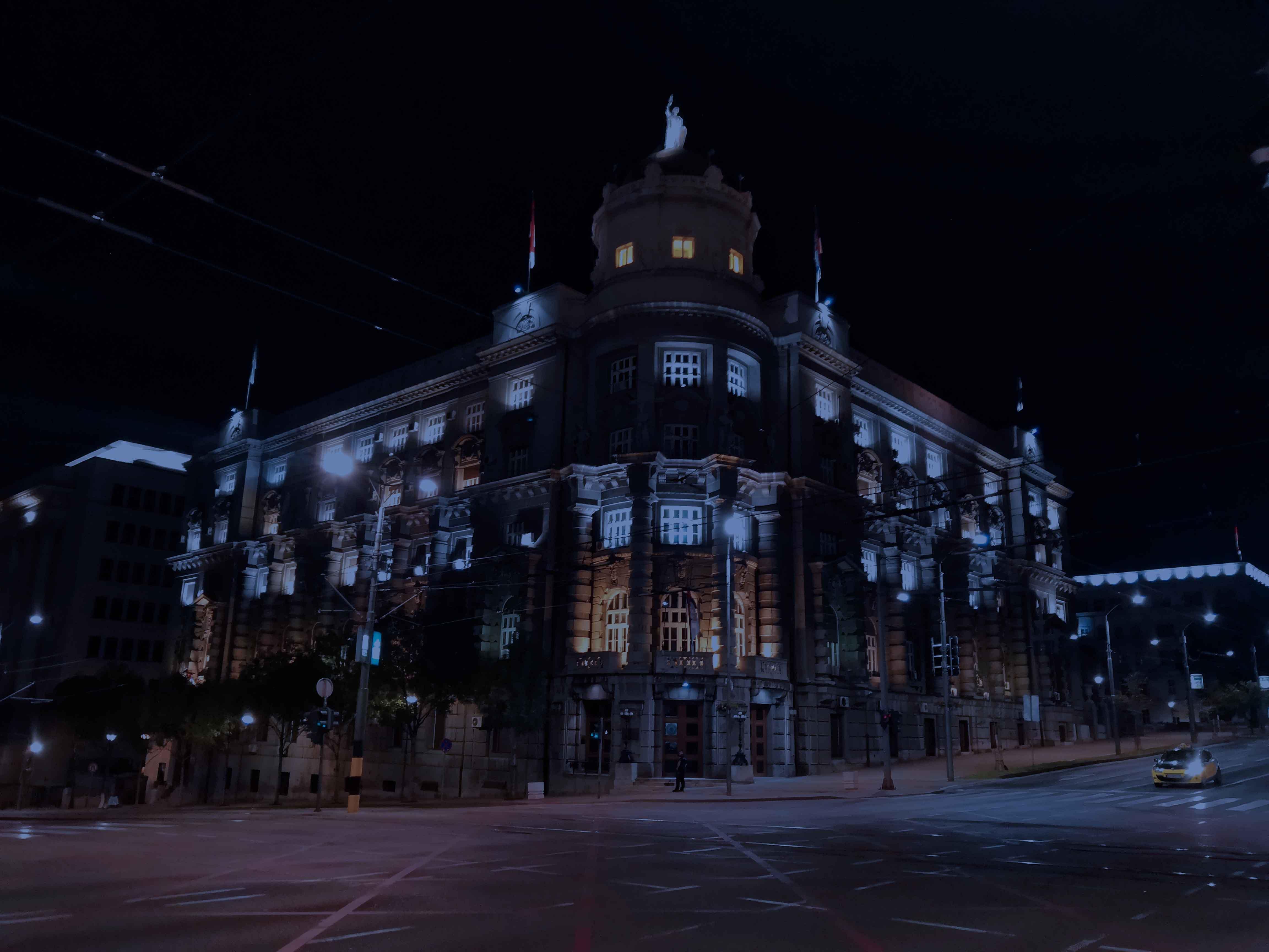 Belgrade by night