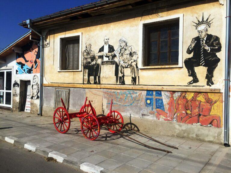 Staro Zhelezare -street art